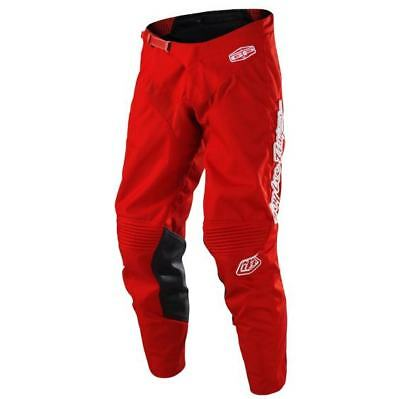 NEW TROY LEE DESIGNS TLD18 2018 MONO RED Pants TLD MX Moto Pant