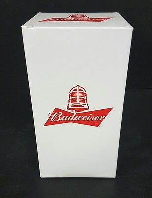 New Budweiser Goal Synced Red Light Glass Limited Edition Free Shipping!