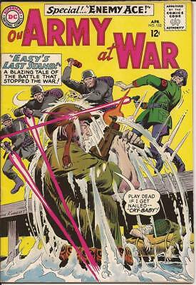 OUR ARMY AT WAR #153 featuring SGT. ROCK - 2nd APPEARANCE ENEMY ACE