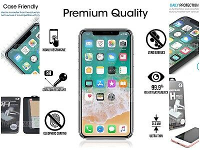 Iphone Screen Protector 0.2 Mm 9H Hd Clear 2.5 D Best In Market