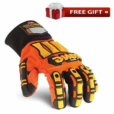 KONG Genuine Ironclad Safety Impact BEST Work Gloves Hand Protection Oil LARGE