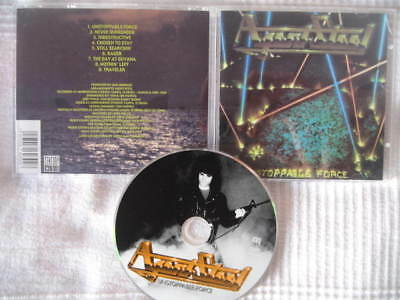 AGENT STEEL - Unstoppable force 1986/1999 CD REM NO BOOT!