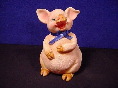 Pink Piggy Bank ~  Cutest on You'll ever SEE!  Statue, Figurine Free Ship