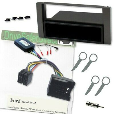 SWC-2093-g Steering Wheel Control/Facia Kit for ISO Radio/Ford Transit 06-12