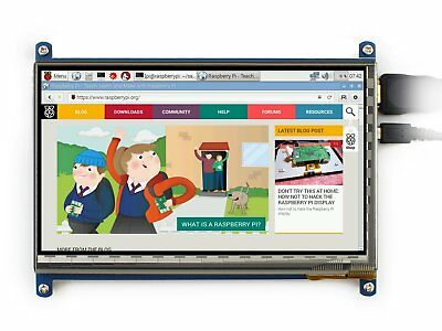 Waveshare 7inch HDMI LCD C Capacitive Touch Screen Display Supports Various for