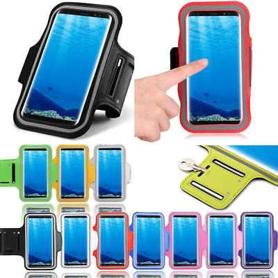 Rich Adjustable Armband Running Exercise Workout Holder For Samsung Galaxy S8