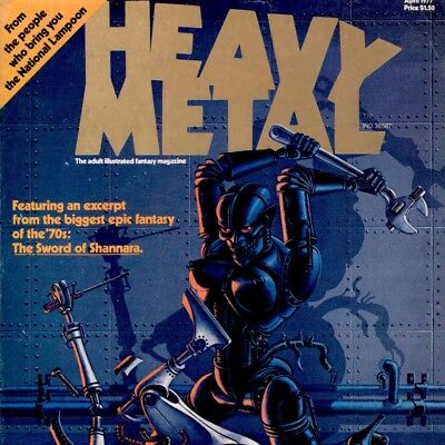 Heavy Metal Magazine with Specials & Extras on 6 DVD Discs
