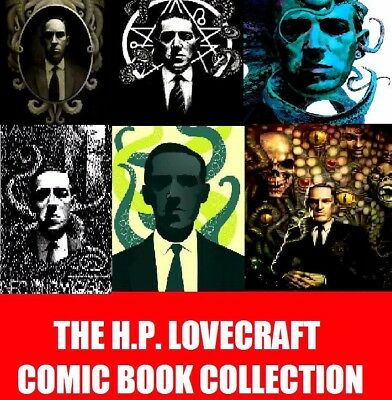 The HP LOVECRAFT COMIC COLLECTION on 2 DVD - Many a tale of dread and horror