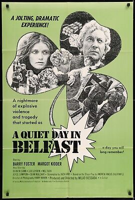 A QUIET DAY IN BELFAST original film / movie poster - Northern Ireland Troubles
