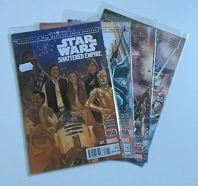 Marvel Star Wars: Shattered Empire comics parts 1-4