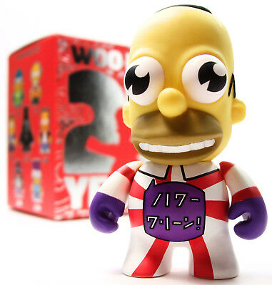 Kidrobot THE SIMPSONS 25TH ANNIVERSARY SERIES - MR. SPARKLE Red/White 1/60 Chase