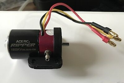 Brushless Watercooled motor ace RC RIPPER 1900 KV OBL29/19-15M