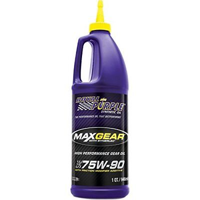 Royal Purple 01300 Max Gear 75W-90 High Performance Synthetic Automotive Gear Oi