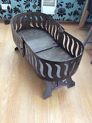 Very Rare Victorian Valise Folding Travel Cot