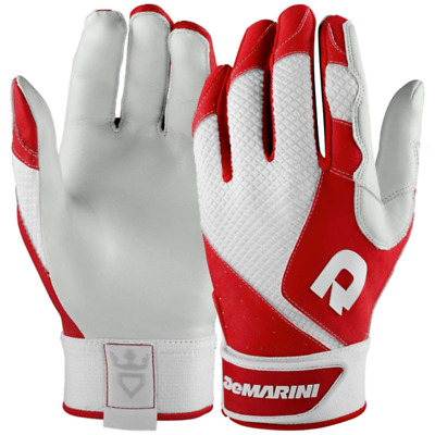 DeMarini Adult Phantom Baseball Batting Gloves