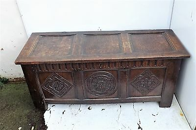 Oak Coffer 18th century