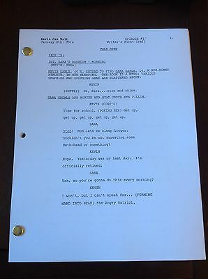 KEVIN CAN WAIT TV Series 51 Page Pilot Script Starring Kevin James. Great Show