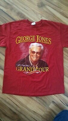 George Jones t shirt The Grand Farewell Tour adult size Large