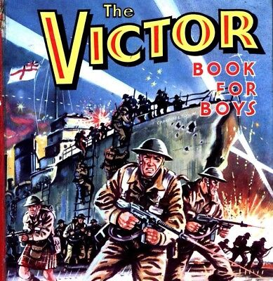 THE VICTOR Deluxe Comic Collection on DVD - 1680+ Comics & Annuals - 8 Disc Set