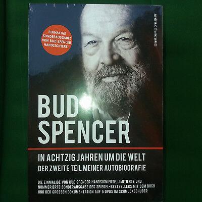 bud spencer autogramm dvd box in achzig jahren um die welt. Black Bedroom Furniture Sets. Home Design Ideas