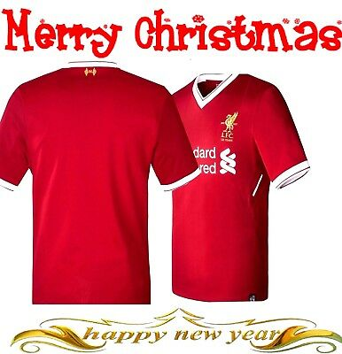 LIVERPOOL FC FOOTBALL KITS -JERSEY 17-18 home for Adult High Quality