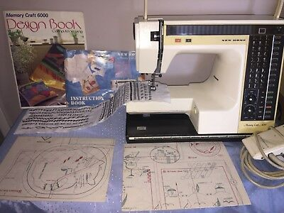 Janome Memory Craft 6000 Embroidery Sewing Machine