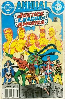 Justice League of America Annual #2 1984 (NM+) First Vibe and Gypsy