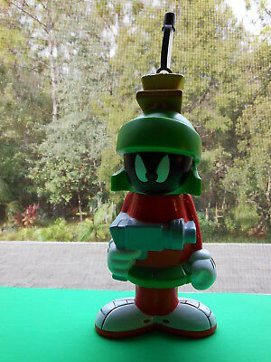 "Vint.MARVIN THE MARTIAN 1996 Looney Tunes-SPACE JAM 10"" Figure, Big Sipper VGC"