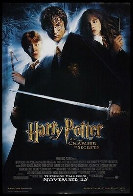 HARRY POTTER AND THE CHAMBER OF SECRETS original film / movie poster