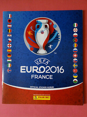 PANINI UEFA EURO 2016 FRANCE Official Sticker Album (2016) VACÍO Y NUEVO