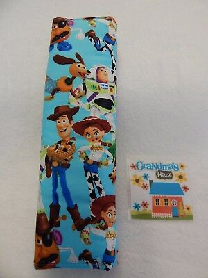 Seat Belt Cover For Standard Seat Belt - Toy Story - Buzz Woody Jess
