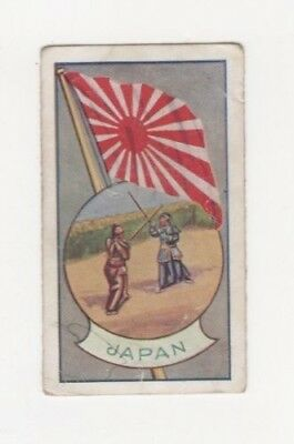 Allen's Confectionery - Sports and Flags of Nations - Japan  - Staff Fighting