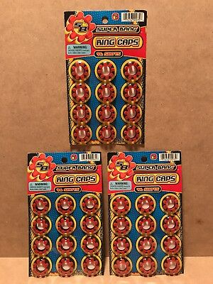 288 Super Bang RING CAPS SHOTS Toy New Sealed JARU 3-Packages #935