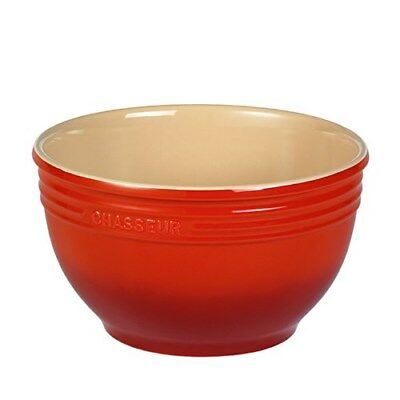 Chasseur 7L Mixing Bowl Red Brand New