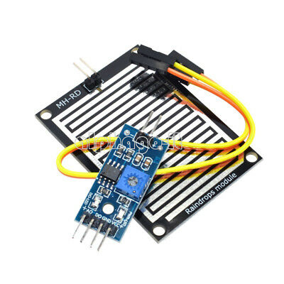 1/2/5/10pcs Raindrops Rain Detection Sensor Weather Humidity Module For Arduino