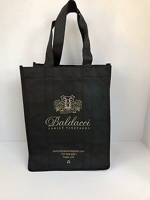 Baldacci Winery Napa Valley Wine 6-Bottle Carrier Bag - *excellent Condition*