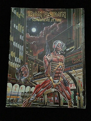 Iron Maiden Somewhere In Time Sheet Music Book Songbook