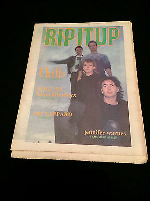 Rip It Up Magazine New Zealand The Chills The Pogues Def Leppard Nona Hendryx