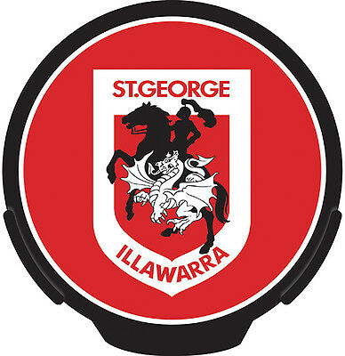 NRL St George Dragons Light Up Power Decal