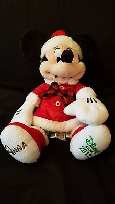 Disney Christmas 2017 Share The Magic Mickey & Minnie Mouse Soft Plush Toy Dolls