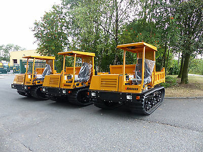 Morooka MST600VD Tracked Dumper 2017 - New & Unused, 12 month warranty