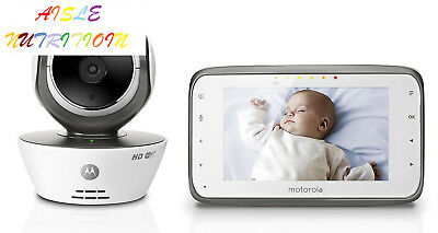 Motorola MBP854CONNECT Dual Mode Baby Monitor with 4.3-Inch LCD Parent and...