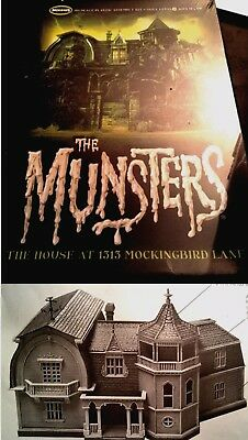The MUNSTERS House TV SERIE 1:87 MODEL KIT Moebius CASA NUOVO