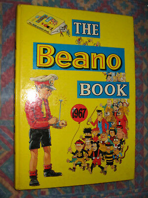 THE BEANO BOOK 1967 vintage comic annual