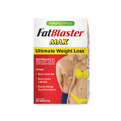 NEW Naturopathica Weight Loss Tablets FatBlaster Max 60 Tablets