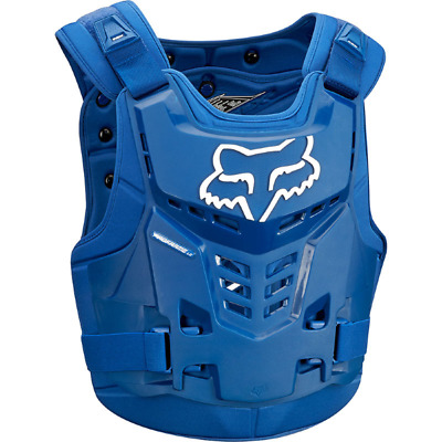 NEW FOX RACING PROFRAME Adult Body Armour BLUE Chest Protector Motocross MX Moto