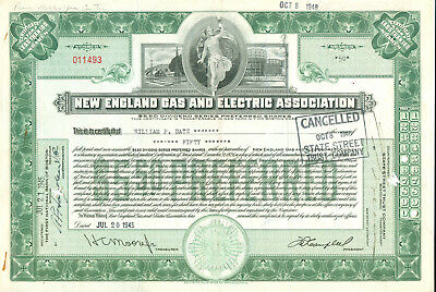 New England Gas and Electric Association 1940