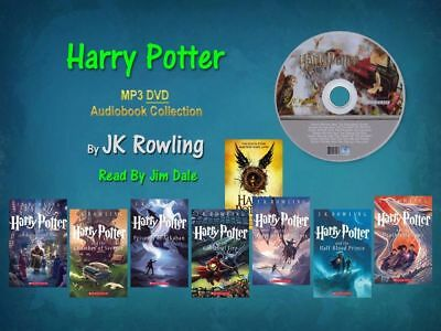 Harry Potter: Complete J. K. Rowling Series-mp3 Audio Collection Set (8book)