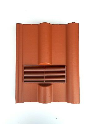 Roof Tile Vent To Fit Marley Redland 50 Double Roman | Terracotta | 8 Colours