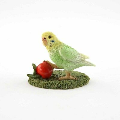 Mini Budgie Parakeet (4625) Fairy Garden Terrarium Miniature 1.75 Inches NEW